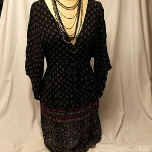 Abercrombie and Fitch Boho Peasant Dress